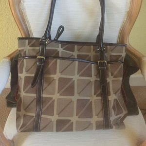 Final Price Nine & CO By Nine West Tote New Cond.